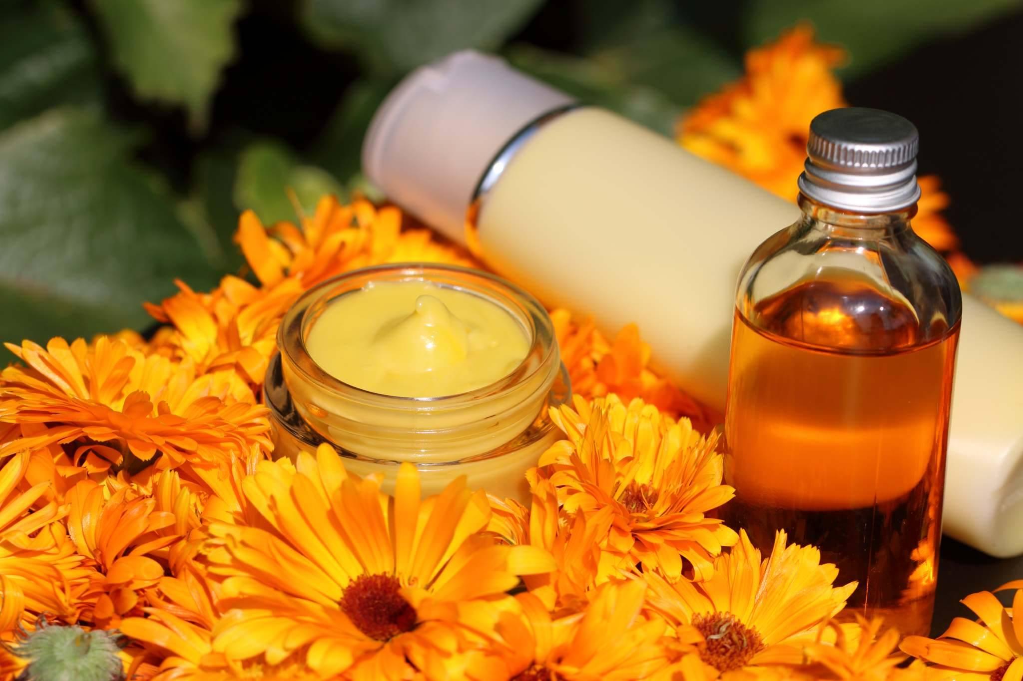 Beispiel Essbare Hautpflege