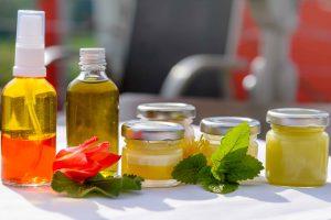 Essbare Hautpflege Pflegeprodukte