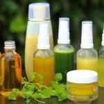 selbstgemachte essbare Hautpflegeprodukte