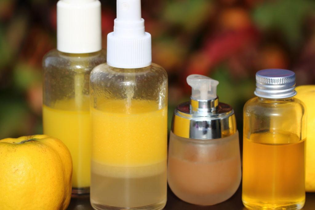 Hautpflege aus Quitten